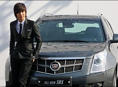 Lee Min Ho so dang cung Cadillac hinh anh