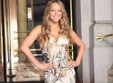 Choang vi do 'chanh' sieu hang cua Mariah Carey hinh anh