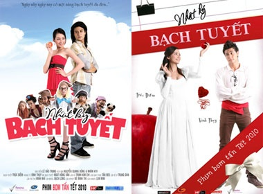 Ngam poster doc dao cua 'Nhat ky Bach Tuyet' hinh anh