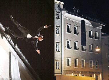 Tom Cruise nhay xuong tu toa nha cao 12m hinh anh