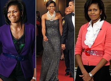 Michelle Obama mac dep nhat nam hinh anh