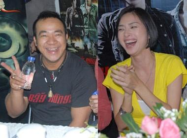 Hieu Hieu choc Ngo Thanh Van cuoi chay nuoc mat hinh anh
