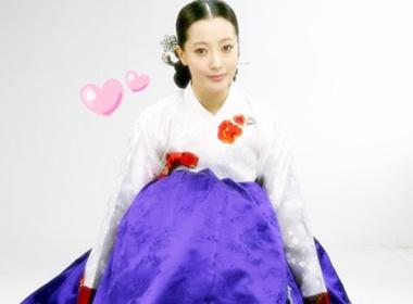 Kim Hee Sun duyen dang voi hanbok hinh anh