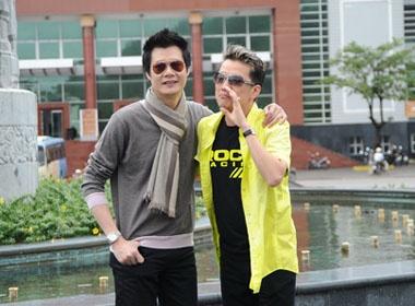 Mr Dam, Quang Dung dan sao Vpop di tu thien hinh anh