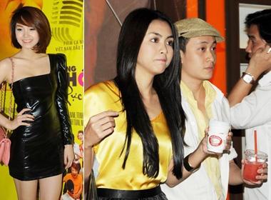 Luong Manh Hai di xem phim cua Minh Hang hinh anh