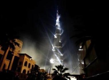 Thap Burj Dubai dong cua vi su co lon hinh anh