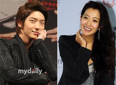 Kim Hee Sun 'cap' voi Lee Jun Ki hinh anh