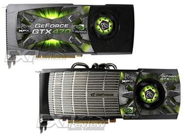 Hinh anh dong card Geforce GTX 400 cua XFX hinh anh