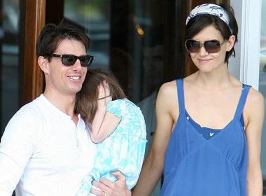 Tom Cruise 'mot' con trai hinh anh
