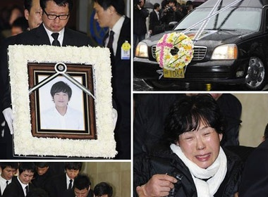 Dam tang em trai Choi Jin Shil hinh anh