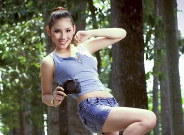 Bac Linh nang dong cung short hinh anh