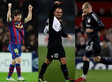 Messi - Robben - Sneijder: Nhung so 10 hoan hao hinh anh