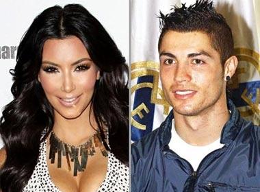 Ronaldo hen ho voi Kim 'sieu vong ba' hinh anh
