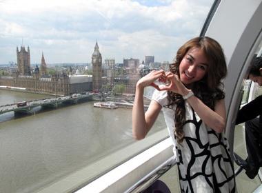 Ngan Khanh lam duyen tai London hinh anh