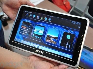MSI trinh lang doi thu cua iPad hinh anh
