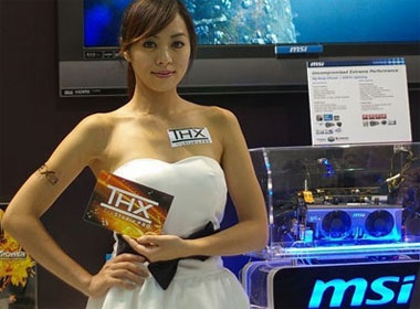 Muon ve show girl tai Computex 2010 hinh anh
