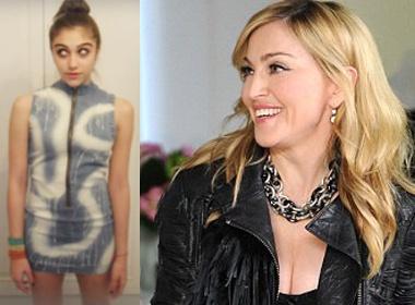 Madonna: 'Con hon me la co phuc lam'! hinh anh