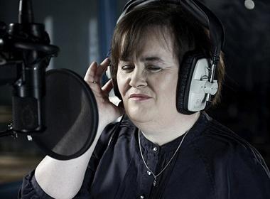 Susan Boyle tim ban song ca hinh anh