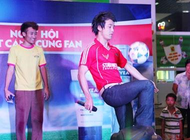 Ung Hoang Phuc tro tai tang bong hinh anh