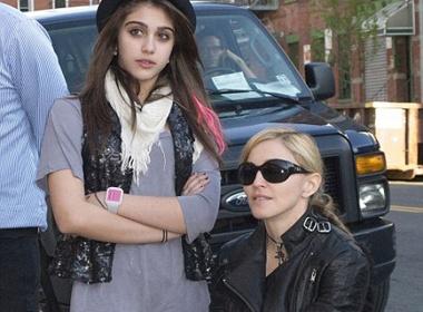 Madonna tro tai dao dien hinh anh