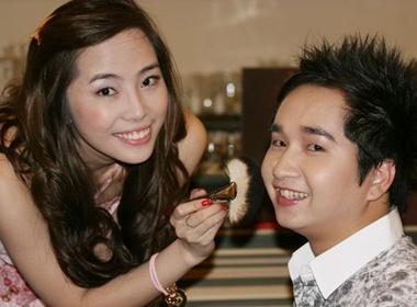 Quynh Nga make-up cho Bang Cuong hinh anh
