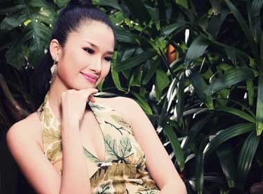 Cao Thuy Duong thanh lich so mi cach dieu hinh anh