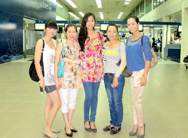 Kieu Khanh len duong thi Miss World hinh anh