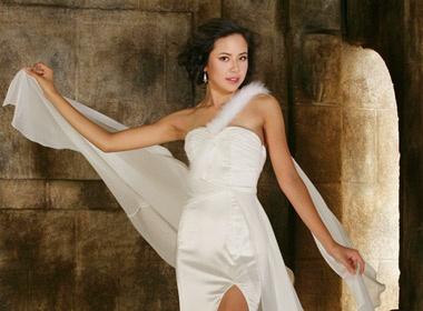 Kieu Khanh khoe trang phuc da hoi thi Miss World hinh anh