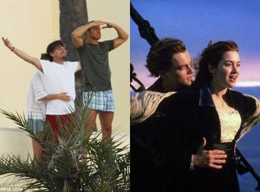 Leonardo DiCaprio dong 'Titanic' cung nguoi tinh hinh anh