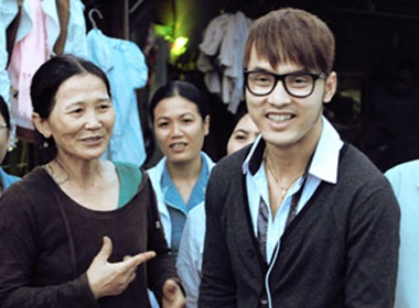 Ung Hoang Phuc thuong ve Ninh Thuan hinh anh