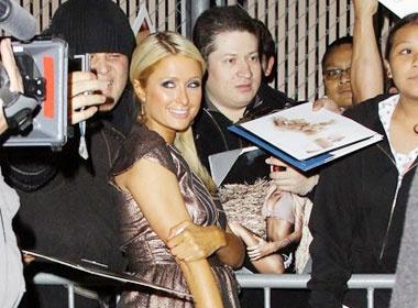 Paris Hilton lam phim ve minh hinh anh