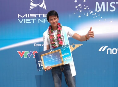 Kien Dinh vao Top 15 Mister Viet Nam nho nhat rac gioi hinh anh