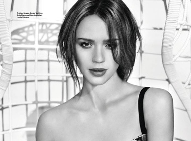 Jessica Alba khong muon con theo nghiep me hinh anh