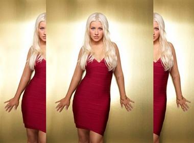 Christina Aguilera toc vang goi cam hinh anh