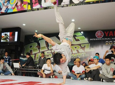 Hinh anh dep o vong loai hiphop Ring Masterz hinh anh