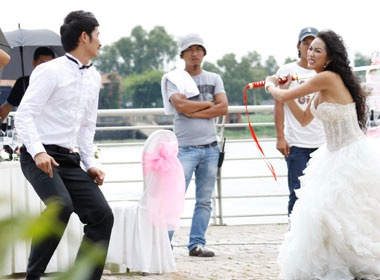 Phi Thanh Van: 'Tet nay se vao bep phuc vu chong' hinh anh