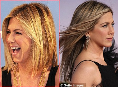 Jennifer Aniston tre trung toc moi hinh anh