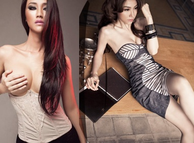 Maya 'do sac' cung Vietnam's Next Top Model hinh anh