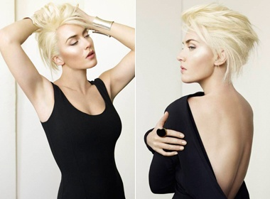Kate Winslet khoe toc moi cuc 'ngau' hinh anh