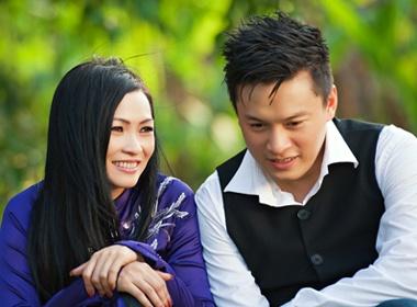 Phuong Thanh dep diu dang ben Lam Truong hinh anh