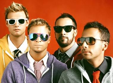 60 fan may man duoc gap go Backstreet Boys hinh anh