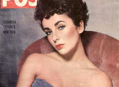 Ngam lai hinh anh Elizabeth Taylor tren cac tap chi hinh anh