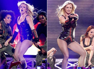 Britney Spears 'dot chay' san khau San Francisco hinh anh
