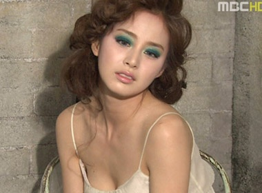 Ngam Kim Tae Hee cuc sexy hinh anh