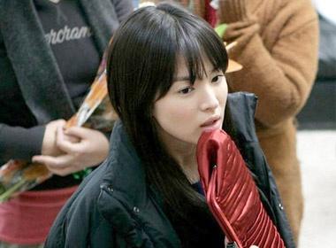 Song Hye Kyo mat moc dang yeu hinh anh