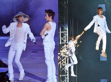 Fan Viet phat sot vi man trinh dien cua Super Junior hinh anh