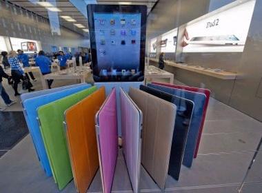 iPad 2 thieu hang do nguon cung man hinh khong on dinh hinh anh