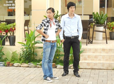 Tuong Vy 'kinh dich' voi Huynh Anh hinh anh