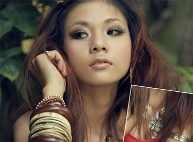 Don he voi trang suc Gypsy hinh anh