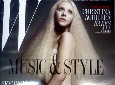 Christina Aguilera nude ma van bi che hinh anh